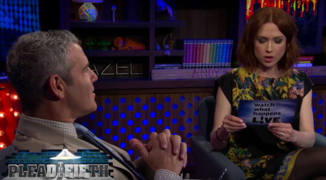 Ellie Kemper And Andy Cohen Talk St. Louis