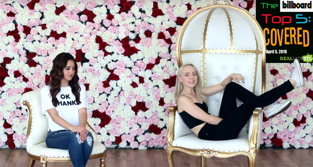 "Madilyn Bailey and Megan Nicole cover ""No"" by Meghan Trainor"