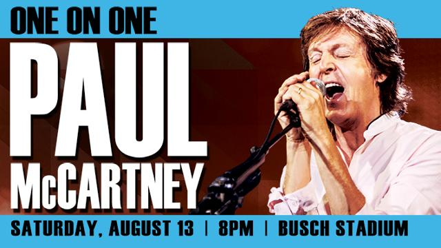 Paul McCartney at Busch Stadium in St. Louis