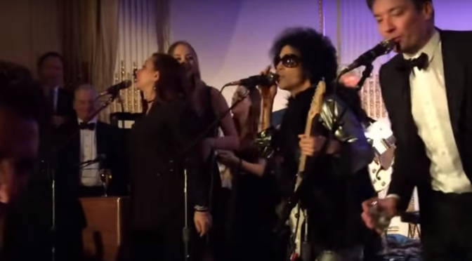 Prince Performs At Saturday Night Live 40th Birthday After-Party