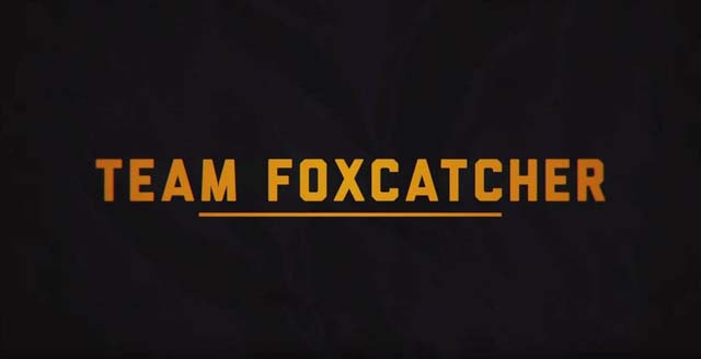 Team Foxcatcher, a Netflix original