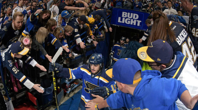 St. Louis Blues Take Game 1 of Western Conference Finals