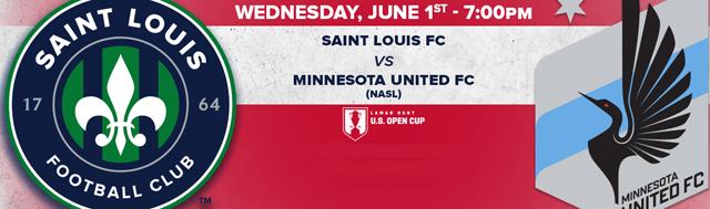 Saint Louis FC vs Minnesota in 2016 U.S. Open Cup