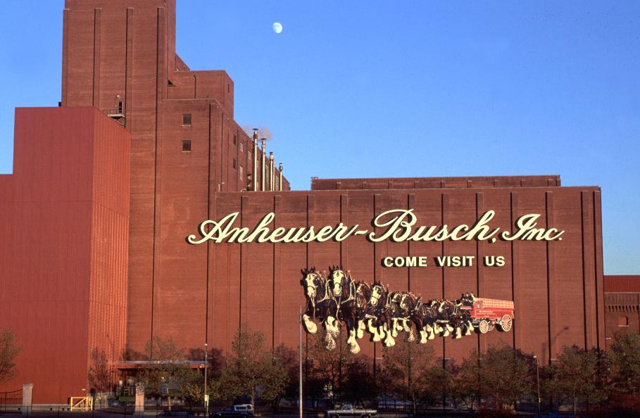 Inbev Tours St Louis