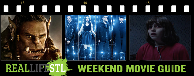 The Conjuring 2, Now You See Me 2 and Warcraft open in movie theaters this weekend.