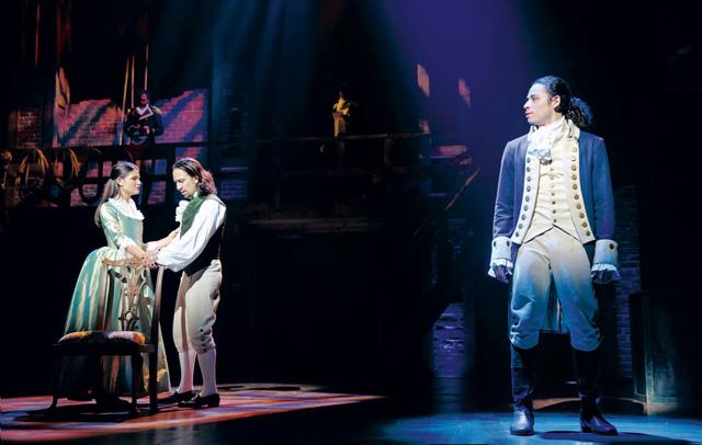 A scene from Hamilton