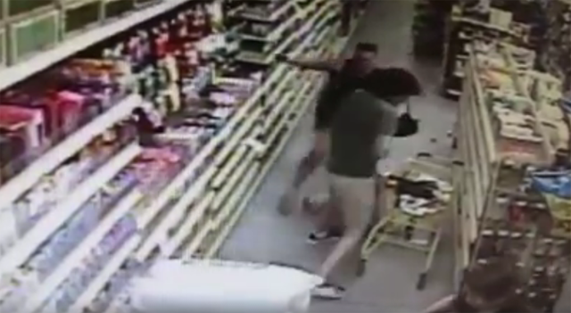 Man tries abducting girl from Florida Dollar General.