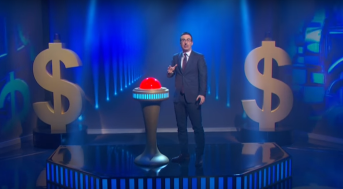 John Oliver Forgives $15 Million In Medical Debt