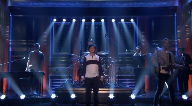 "Lukas Graham Performs ""Mama Said"" On Tonight Show"