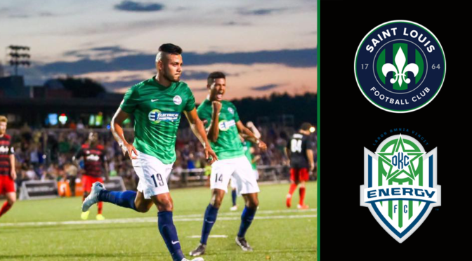 Saint Louis FC Takes On Oklahoma City Energy FC This Weekend