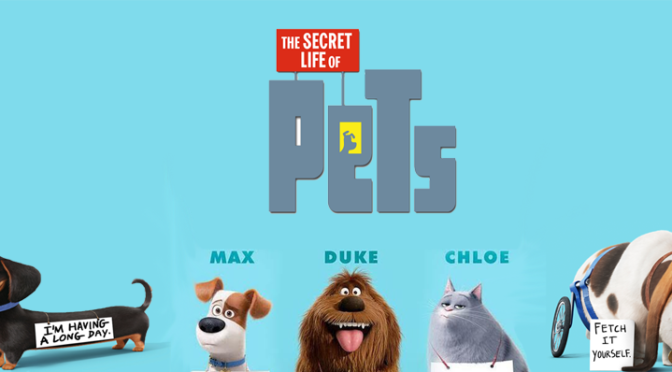 Secret Life of Pets Hits Theaters This Weekend