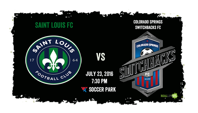 Saint Louis FC takes on Colorado Springs Switchbacks FC Saturday Night at World Wide Technology Soccer Park.
