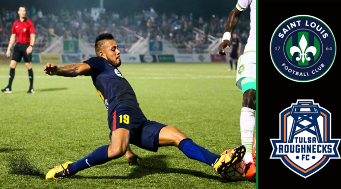 Saint Louis FC Travels To Tulsa Tonight