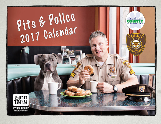 St. Louis County Police debut Pits & Police and Cops & Kittens calendars.