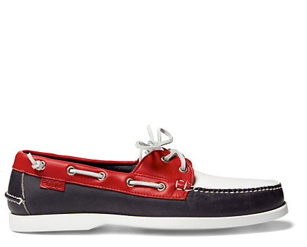 Team USA boat shoes