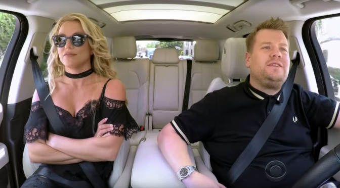 Britney Spears Releases Glory, Goes On Carpool Karaoke With James Corden