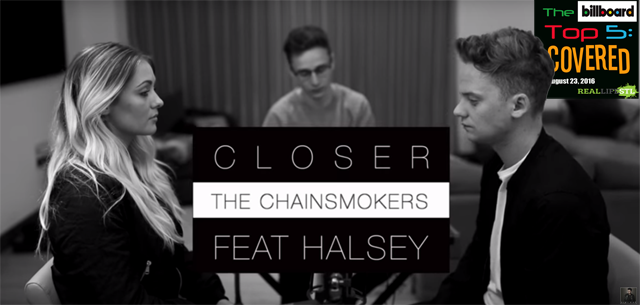 "Conor Maynard covers ""Closer"" by The Chainsmokers"