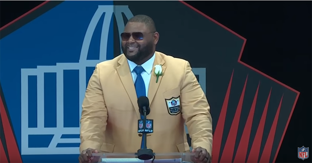 Orlando Pace inducted into Pro Football Hall of Fame