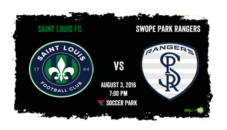 Saint Louis FC and the Swope Park Rangers play a midweek USL contest tonight at World Wide Technology Soccer Park.