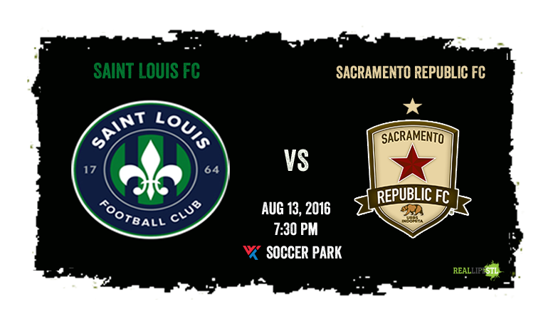 Saint Louis FC plays Sacramento Republic FC