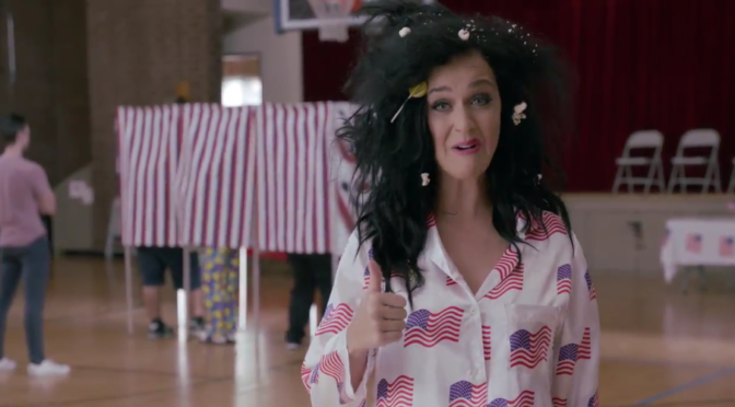 Katy Perry Gets Naked To Vote With Funny Or Die
