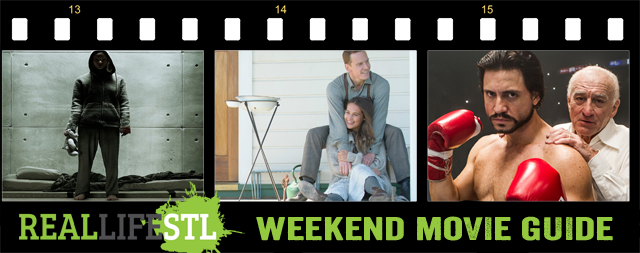 The Light Between Oceans, Hands of Stone and Morgan open in theaters across St. Louis this weekend.