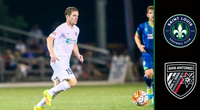 Saint Louis FC Travels To San Antonio This Weekend