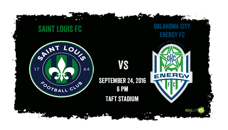 Saint Louis FC closes out the 2016 USL season this Saturday in Oklahoma City against Energy FC.