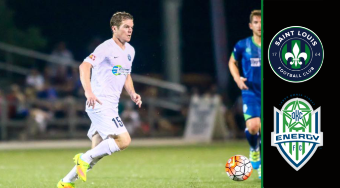 Saint Louis FC On The Road At Oklahoma City Energy FC To Close 2016 USL Season
