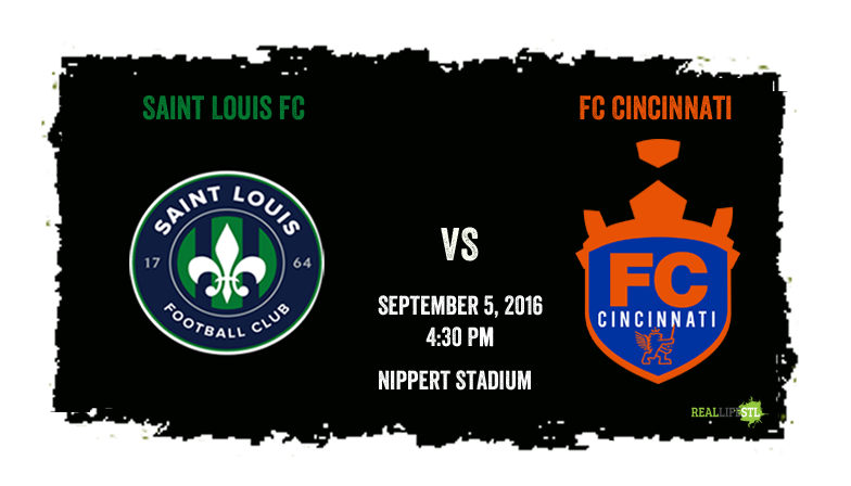 Saint Louis FC vs FC Cincinnati.