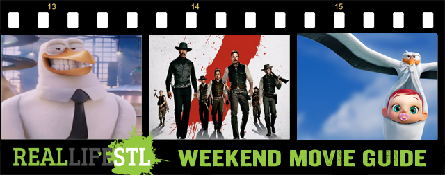 Storks and The Magnificent Seven open in movie theaters across St. Louis this weekend.