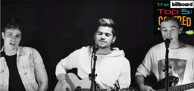 "Rajiv Dhall, Spencer Sutherland and Alec Bailey cover ""Closer"" in this week's edition of The Billboard Top 5: Covered"