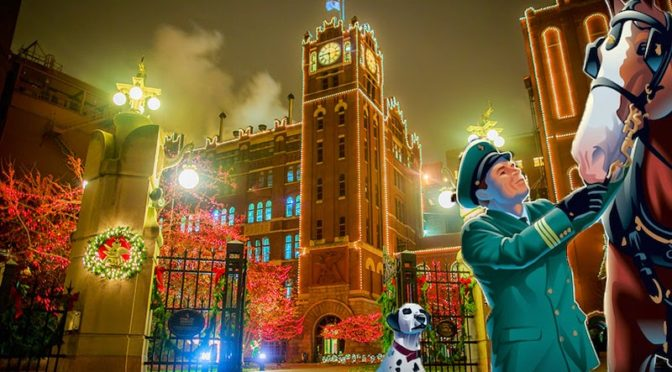 Brewery Lights Returns For 2016 At Anheuser-Busch