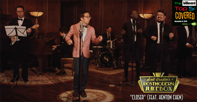 "Postmodern Jukebox covers ""Closer"" by The Chainsmokers in The Billboard Top 5: Covered"