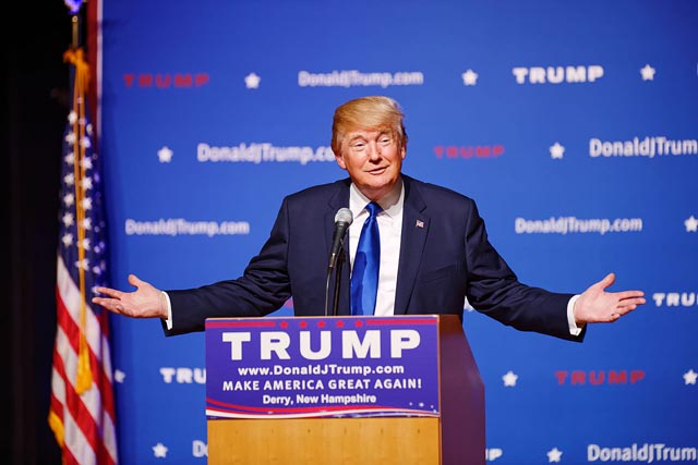 Donald Trump defeated Hillary Clinton in the 2016 U.S. Presidential election.