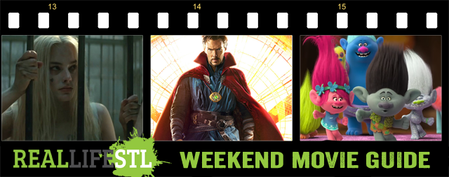 Doctor Strange and Trolls open in movie theaters this weekend. It's the Weekend Movie Guide.