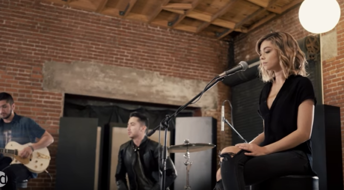 "Sarah Hyland & Boyce Avenue Cover ""Closer"" By The Chainsmokers"
