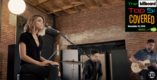 "Sarah Hyland & Boyce Avenue cover ""Closer"" by The Chainsmokers. It's the Billboard Top 5: Covered."