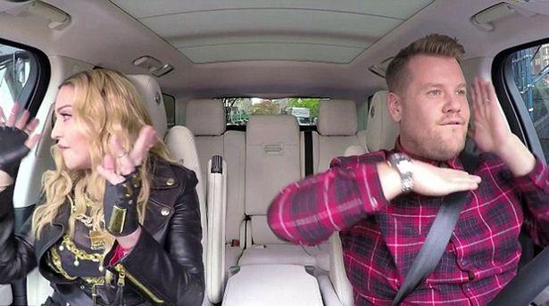Madonna on Carpool Karaoke