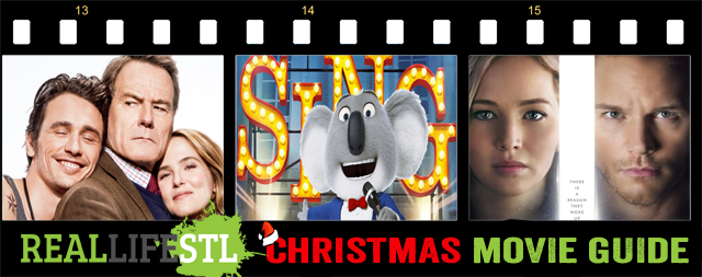 Christmas Movie Guide features Sing, Passengers and Why Him?