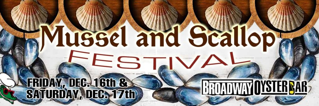 Mussel and Scallop Festival at Broadway Oyster Bar in St. Louis