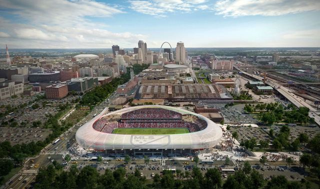 Missouri Gov.-elect Greitens against state funding for St. Louis MLS stadium