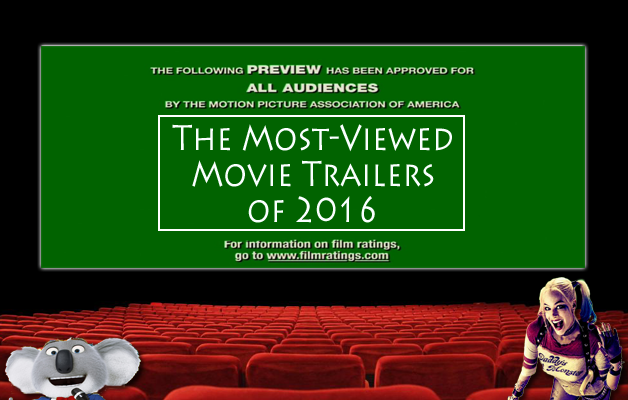 Top Movie Trailers of 2016