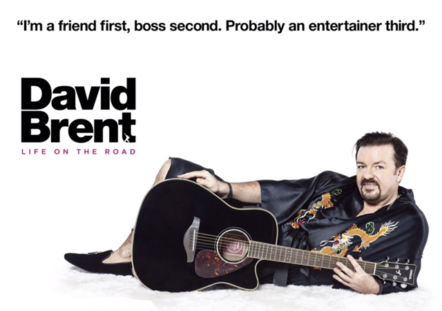 Ricky Gervais is coming to Netflix as David Brent in David Brent: Life on the Road.