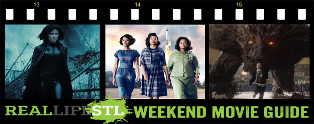 Hidden Figures, Underworld and A Monster Calls open in movie theaters around St. Louis this weekend.