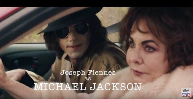 Joseph Fiennes as Michael Jackson in Urban Myths