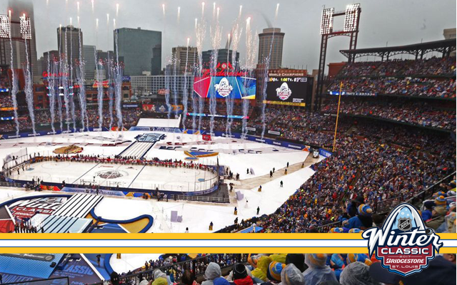 Relive the 2017 Winter Classic at Busch Stadium in St. Louis.