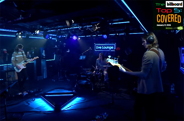"Sundara Karma covers ""24K Magic"" by Bruno Mars in the BBC Live Lounge in this week's edition of The Billboard Top 5: Covered."