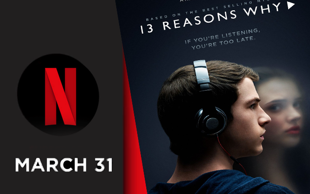 Selena Gomez is bringing 13 Reasons Why to Netflix on March 31, 2017.