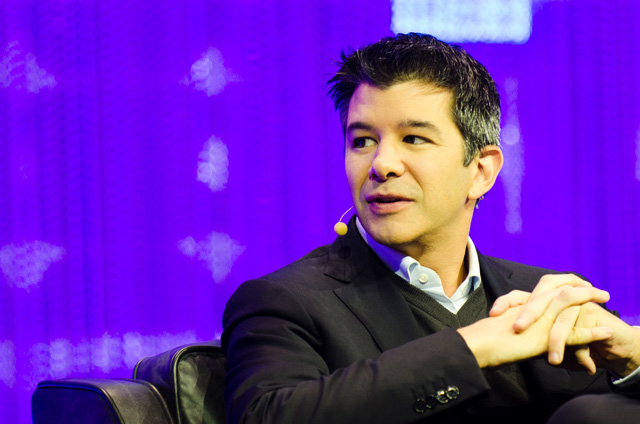 Uber CEO Travis Kalanick argues with an Uber driver in recently released video.